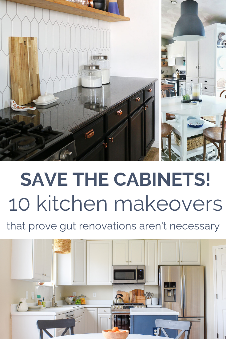 10 Kitchen Cabinet Transformations That Prove An Expensive Kitchen Renovation Isn T Always Necessary T Moore Home Design Diy And Affordable Decorating Id Kitchen Remodel Cost Kitchen Remodel Kitchen Decor