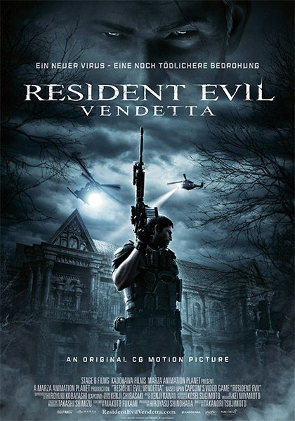 Peliculas Hd Audio Latino Por Mega Resident Evil Vendetta 2017 Ver Online Descarga Resident Evil Descargar Películas Peliculas