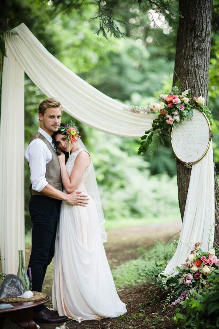 Magical Pennsylvania Wedding Inspiration