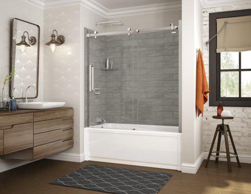 Maax Utile Shower Walls Bathroom Design Shower Tub Large Bathrooms