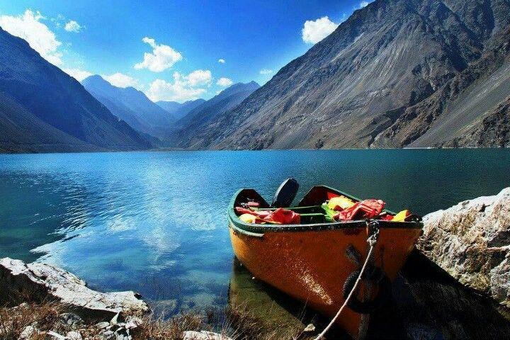 Satpara Lake,  Pakistan
