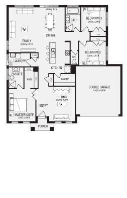 The Lancaster Home Browse Customisation Options Metricon Floor Plans Craftsman Floor Plans Lancaster Home