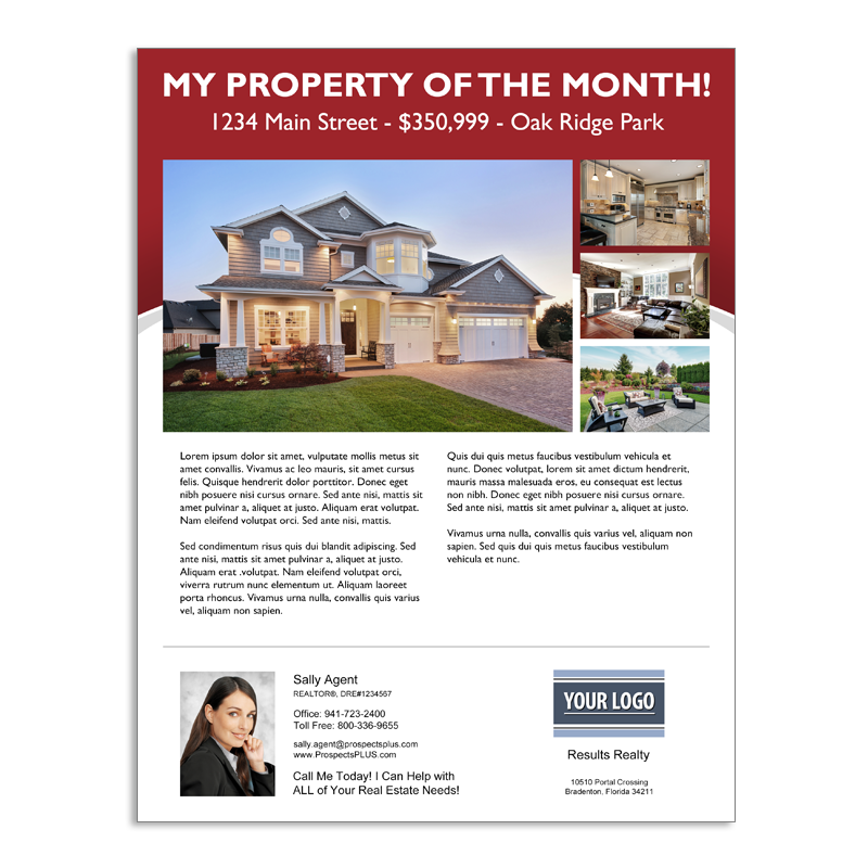 Feature Property Flyer 01 - Red02- Click To Enlarge