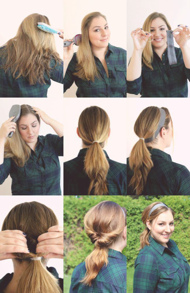 5 Minute Hairstyles For The Busy Mom Hair Styles Mama Hair 5 Minute Hairstyles