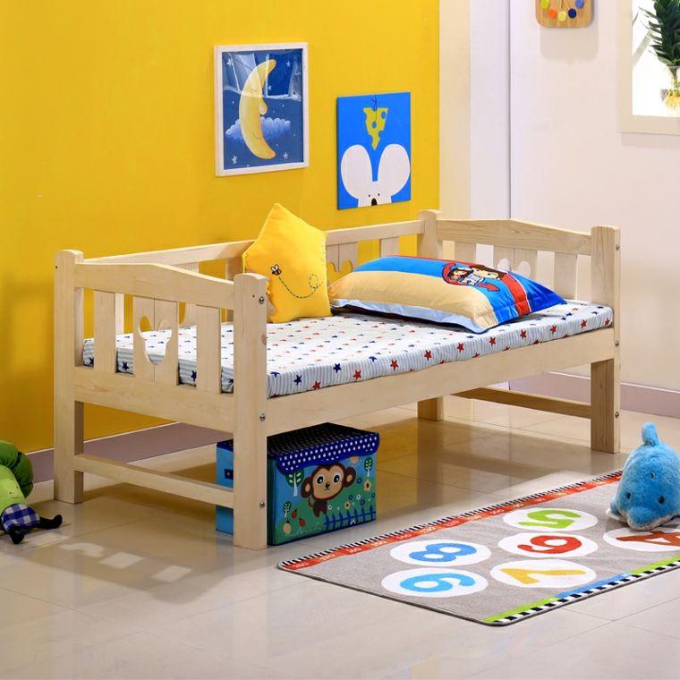 Diseños de camas para niños en madera u2013 24 imágenes Habitación