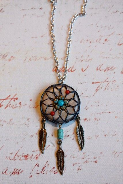 How To Make Dream Catcher Necklace Pix For How To Make Dream Catchers Necklace Dream Catchers 9