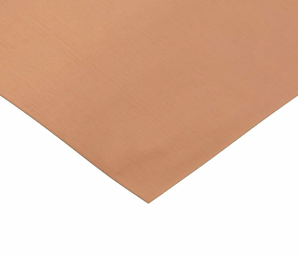 Rmp 110 Copper Sheet 0 021 Thickness 16 Oz 1 8 Hd 12 Width 12 Length Rmp Copper Sheets Copper Sheet