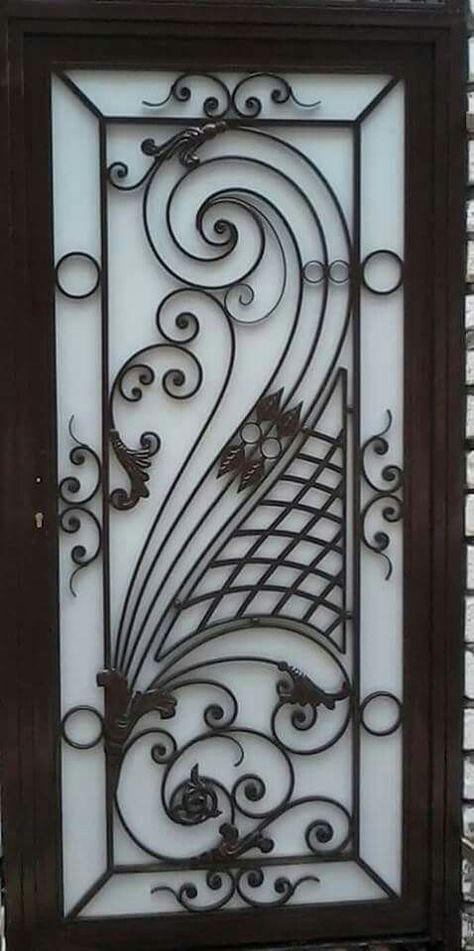 Caulfield House Grill Door Design Doors Interior Modern Door Design
