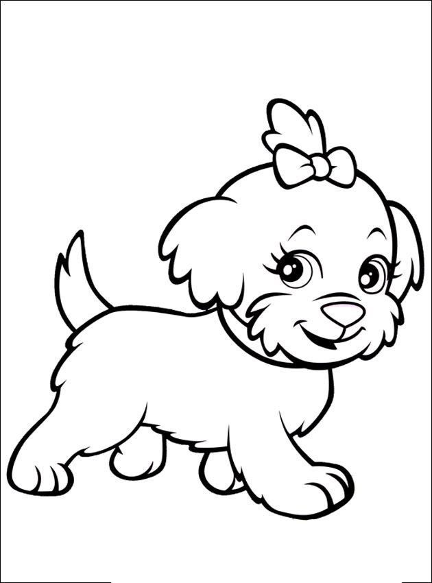 Little Dog Girl From The Gallery Kids Animals Puppy Coloring Pages Dog Coloring Page Animal Coloring Pages
