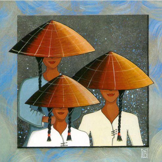 Peinture Vietnamienne Contemporaine Recherche Google Art