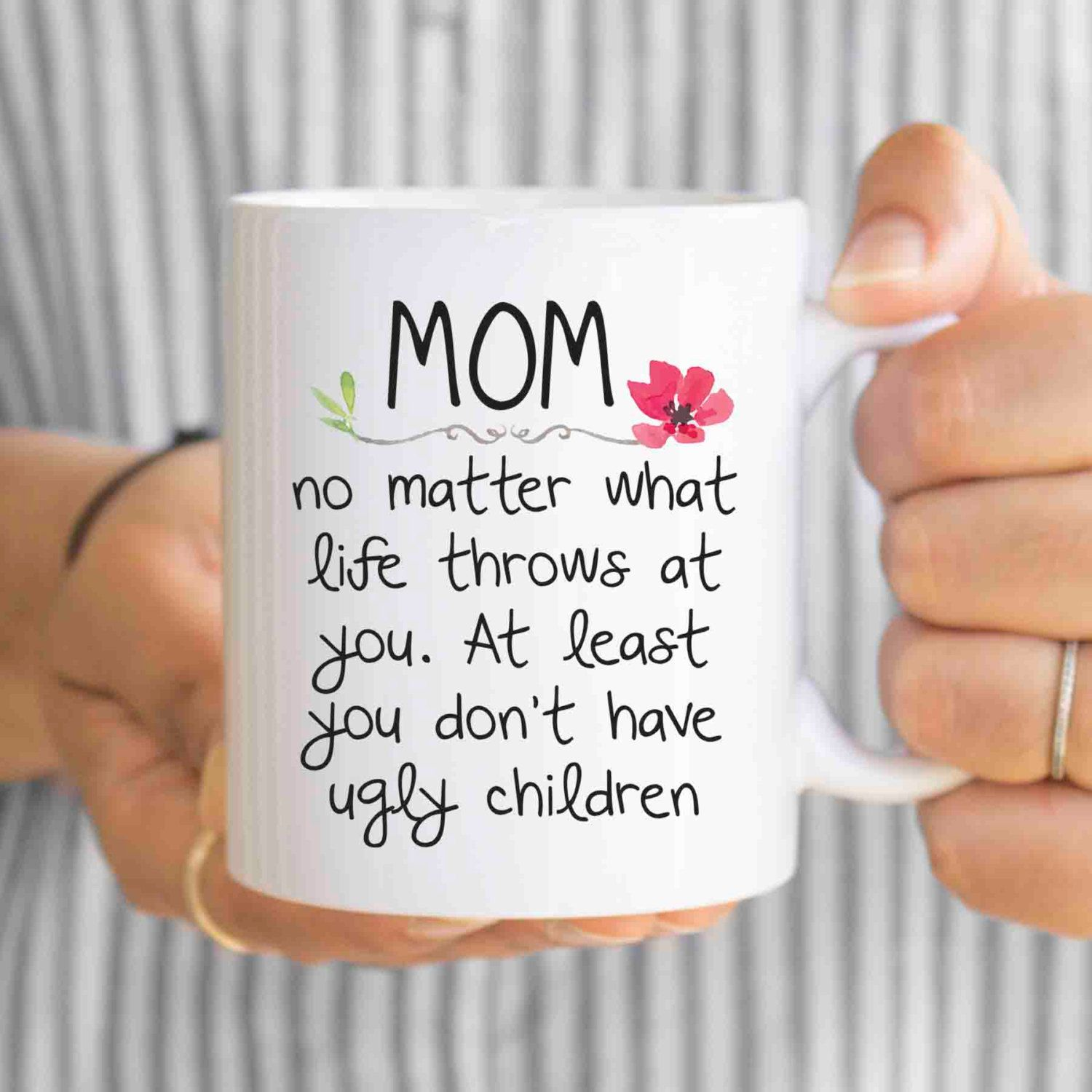 Mother Of The Bride Gift Mothers Day From Daughter For Mom Mug Quotes Thank You Funny Mugs Mu139