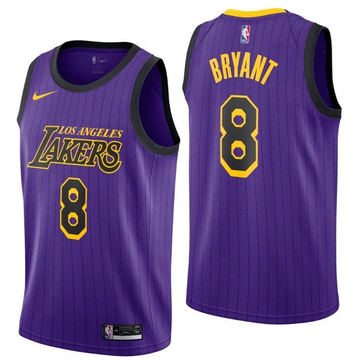 Los Angeles Lakers Nike City Edition Swingman Jersey No 8 Kobe Bryant 126 21 In 2020 Nba Online Los Angeles Lakers Kobe Bryant