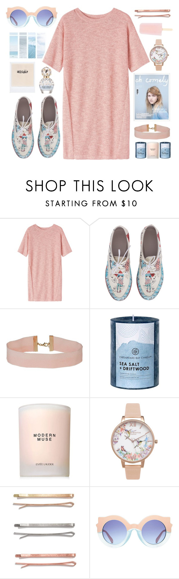 """""""oh la la"""" by seriouskatya ❤ liked on Polyvore featuring Toast, Goby, Miss Selfridge, Chesapeake Bay Candle, Estée Lauder, Olivia Burton, Madewell and Marc Jacobs"""