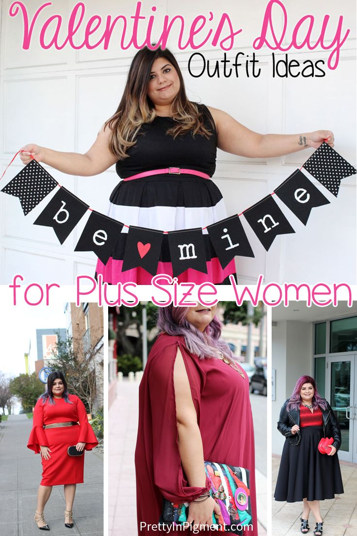 Valentine S Day Outfit Ideas For Plus Size Women Plus Size Style