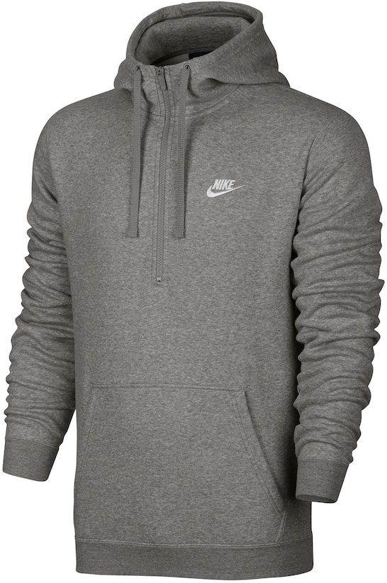 ac3ff2af6429 Nike Men s Club Half-Zip Fleece Hoodie