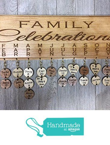personalized family birthday and celebration board wall hanging