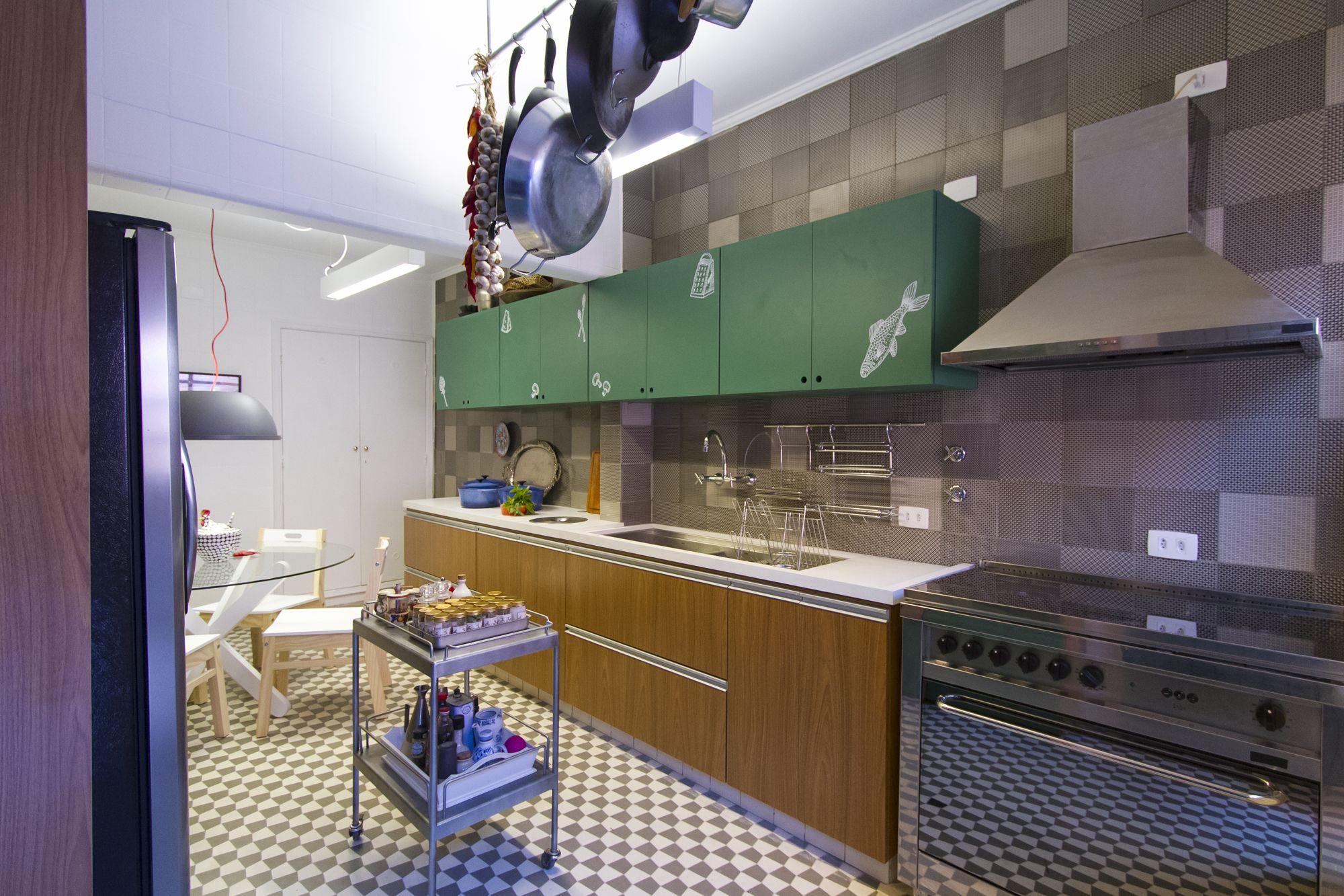 decora rosenbaum temporada 2 cozinha parede com composição de