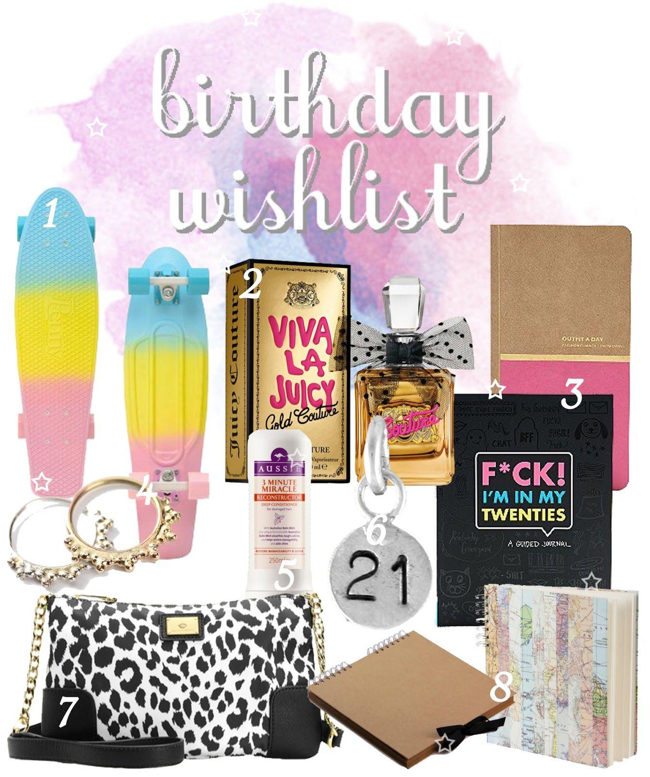 Bambella Blog 21st Birthday Gift Wish List