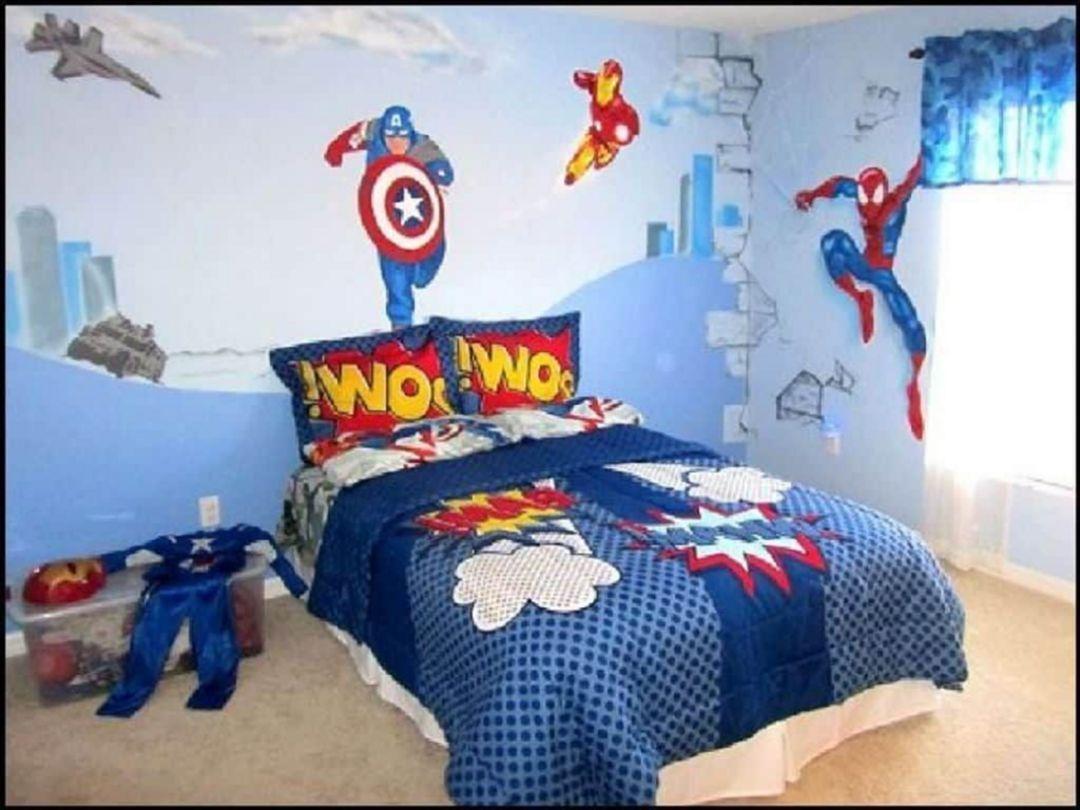 46+ Bedroom avengers room decor info