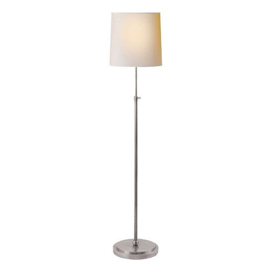 Thomas OBrien Bryant 1 Light Decorative Floor Lamp by Visual Comfort - http://www.lightopiaonline.com/bryant-floor-lamp-with-natural-paper-shade.html
