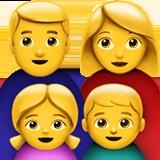 Family Man Woman Girl Boy On Apple Ios 11 2