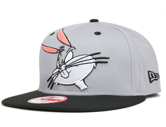 "f7b0770891964 LOONEY TUNES x NEW ERA ""Cabesa Punch Bugs Bunny"" Snapback Cap ..."