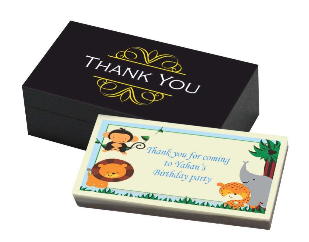 Birthday Return Gifts Jungle Theme (10 Box) Return