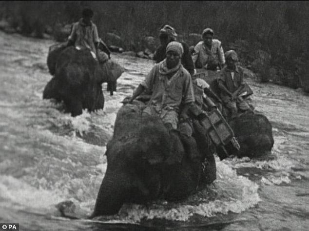 """El """"Hombre Elefante"""", al rescate de los refugiados birmanos durante la ocupación japonesa"""