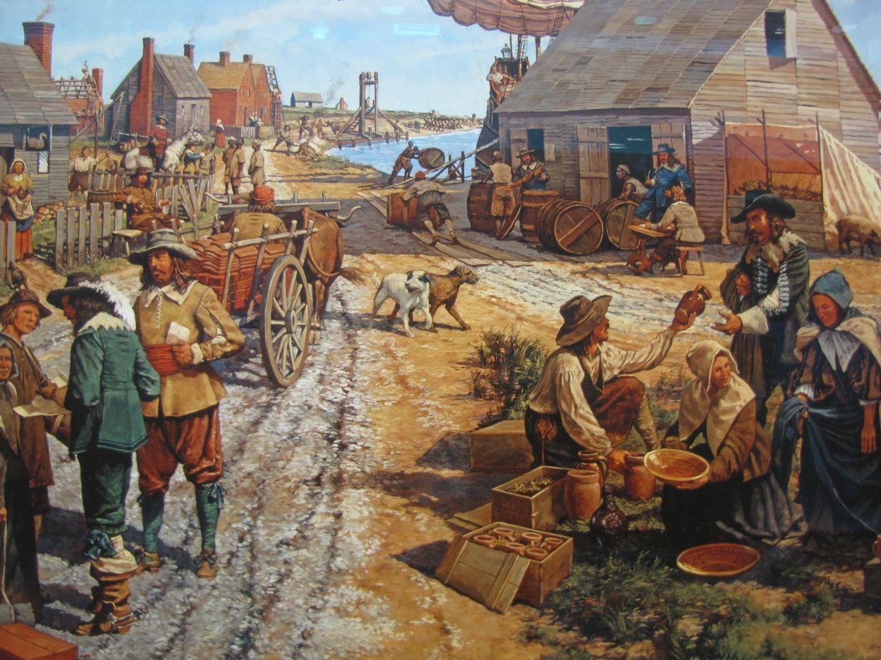 Houses In Jamestown In