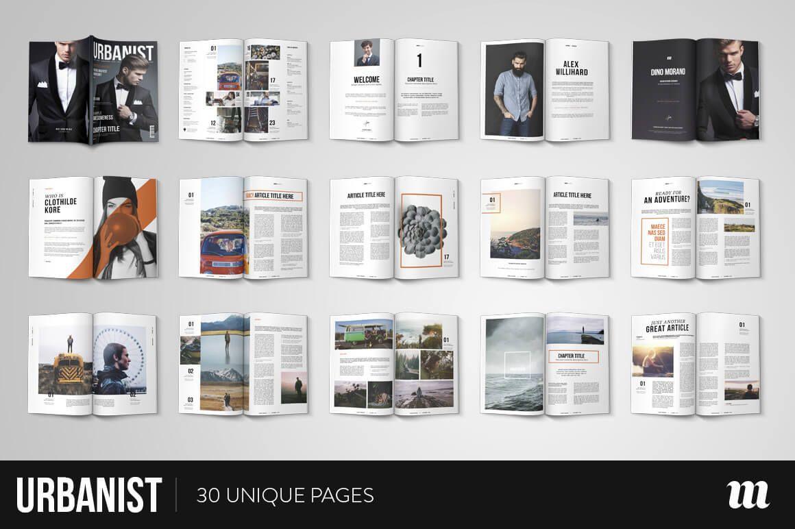 20 Premium Magazine Templates for Professionals | Indesign ...