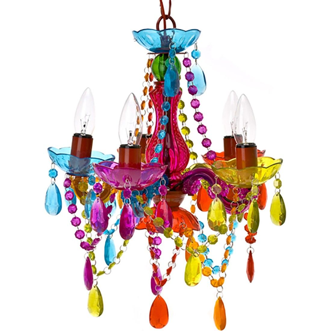 Gypsy chandelier multicolored somewhere over the rainbow gypsy chandelier multicolored arubaitofo Choice Image