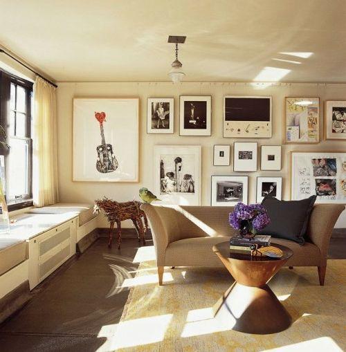 Elegant Wanddeko Ideen Bilder Familienfotos Wandgestaltung