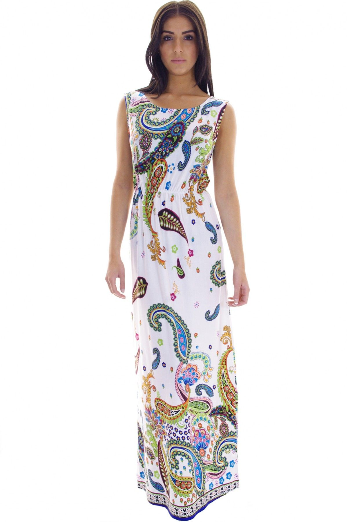 Paisley clothing paisley printed maxi dress gagatoo paisley paisley clothing paisley printed maxi dress gagatoo ombrellifo Gallery