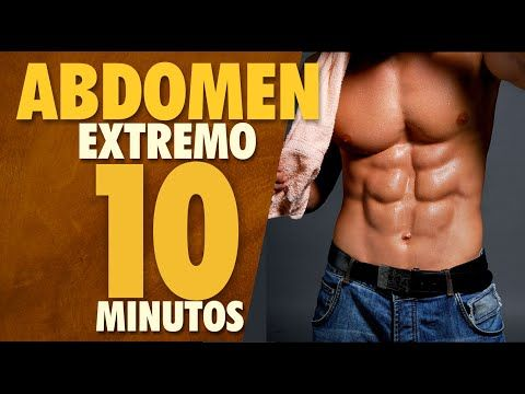 rutina para abdominales extremos | 10 minutos en casa - youtube