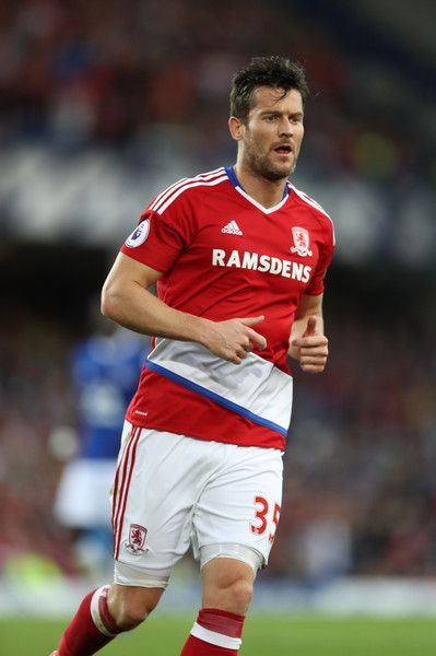 David Nugent of Middlesbrough during the Premier League match between Everton…