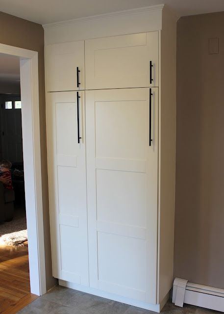 Hmm Idea For Shallow Pantry In Kitchen Ikea Adel Kitchen