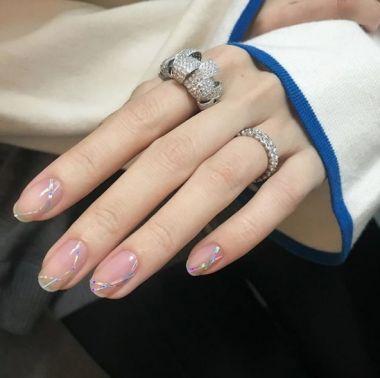 Paznokcie Jasne Paznokcie 2018 Trendy Wiosna Lato Nails