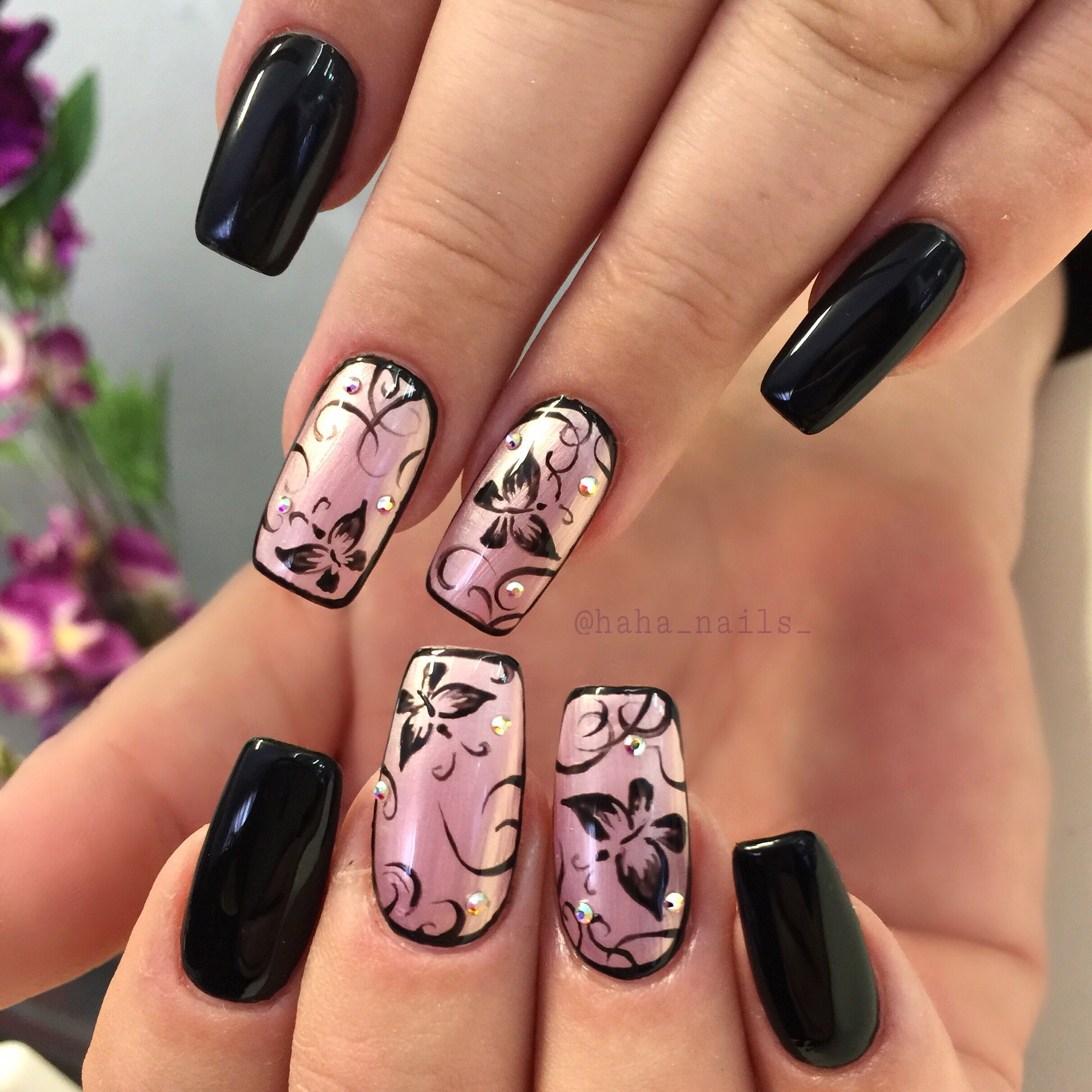 Pin by Hailey Craner on makeup hair nails | Pinterest | Butterfly ...