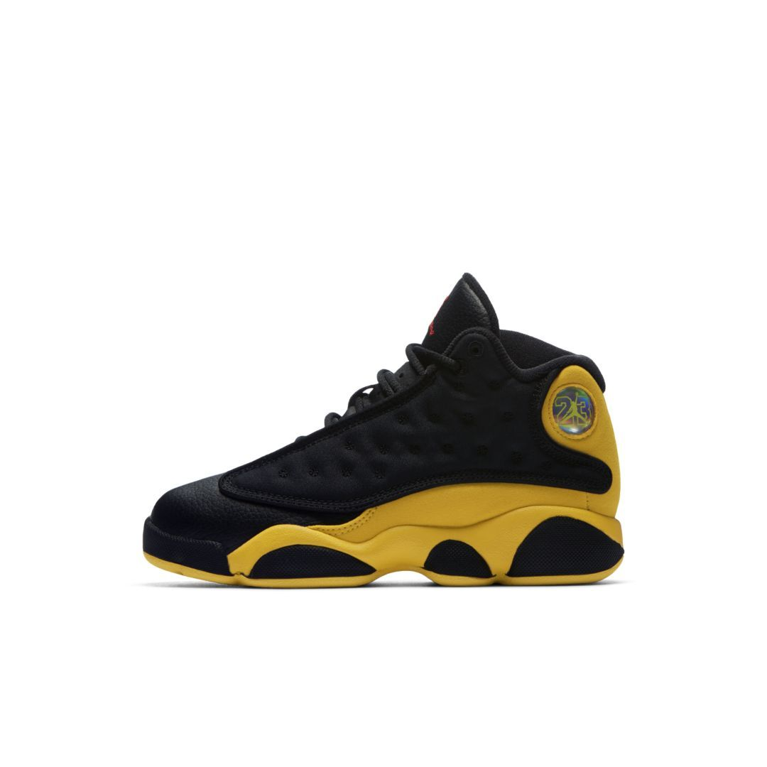 d0127cad49ea85 Air Jordan 13 Retro Little Boys  Shoe Size 12C (Black)