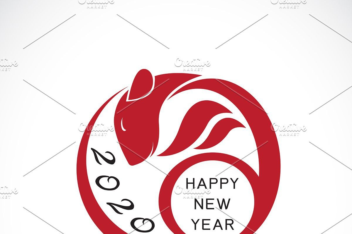 2020 Happy New Year Greeting Card New Year Greetings