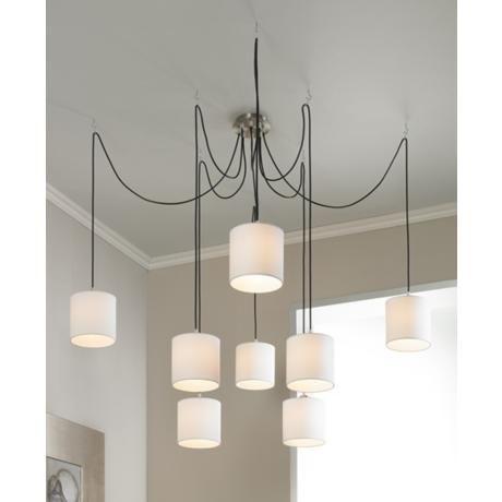 Otta 8 light adjustable swag chandelier lighting pinterest home lighting fixtures lamps more online aloadofball Choice Image