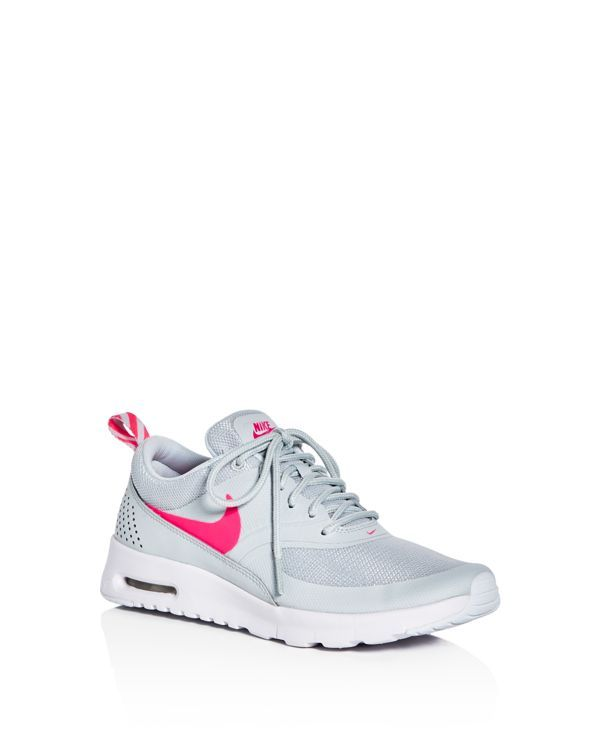 Nike Girls' Air Max Thea Lace Up Sneakers - Big Kid