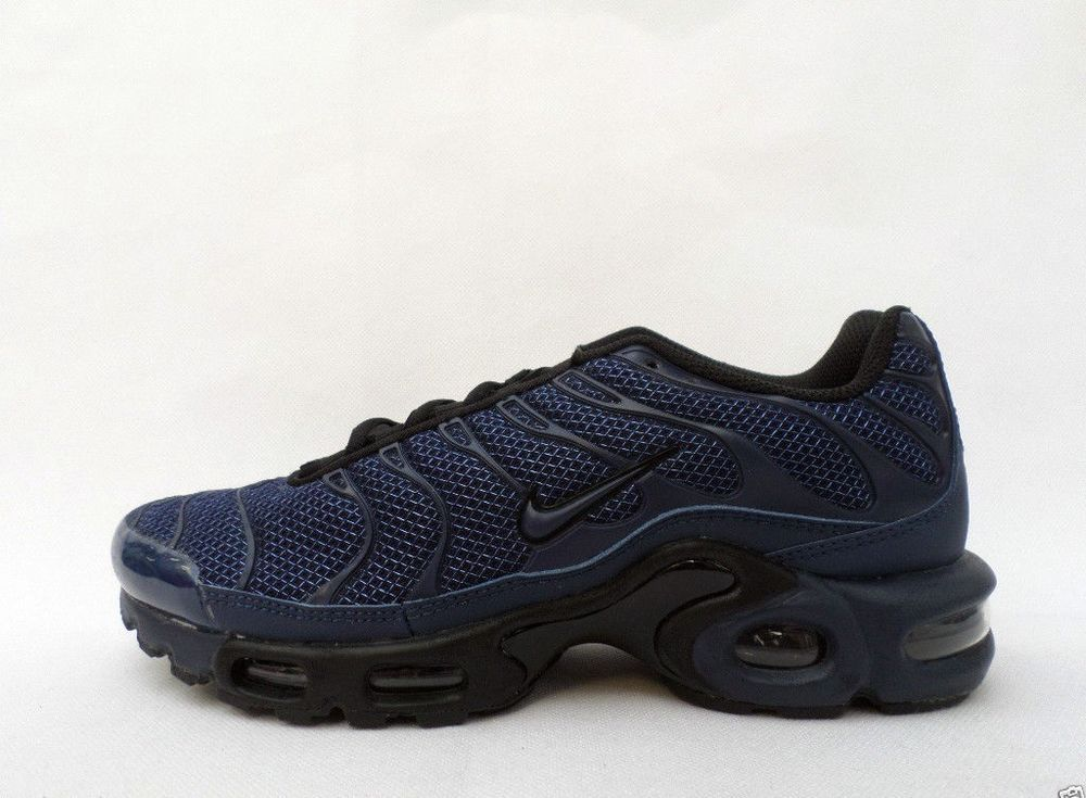 60c128af71da32 Exclusive All Navy Blue NIKE AIRMAX TN PLUS TUNED 1 TN QS triple navy AIR  MAX