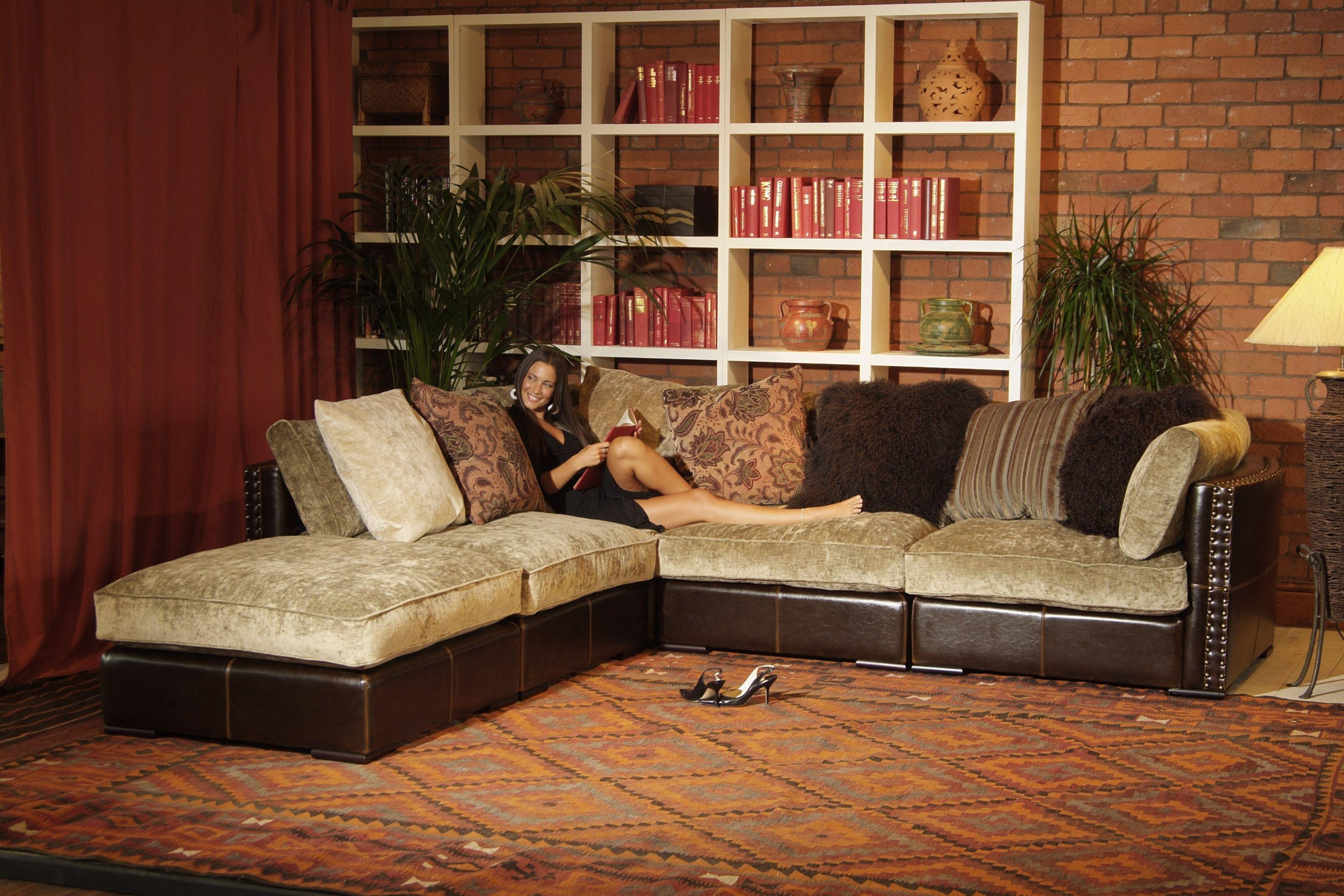 Infinity corner group sofa / global village | Furniture ...