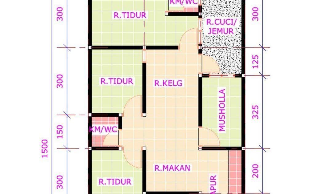 Ide Denah Rumah Minimalis 3 Kamar Tidur Ukuran 6x12 Dengan Gambar Denah Rumah Minimalis 6x12 3 Kamar Tidur Terbaik Inspirasi D Desain Rumah Rumah Minimalis