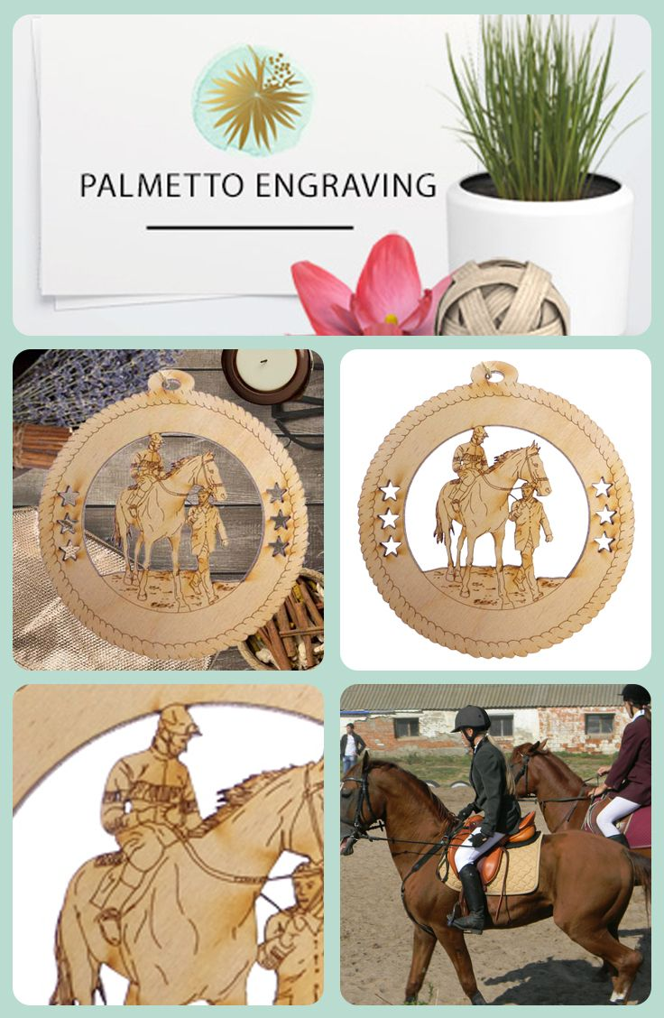 Personalized Horse Racing Ornament Gift For Horse Racers Horse Decor Equestrian Gifts Gifts For Horse Lovers