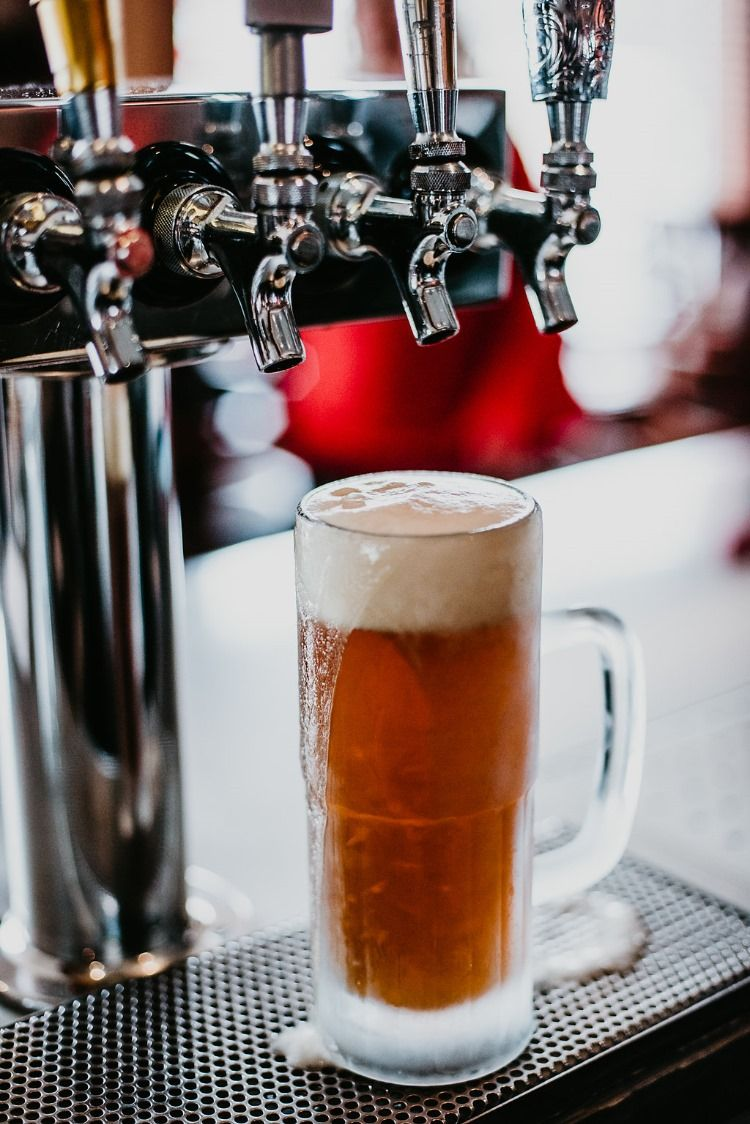 Beer at the Roasted Pear, a full service bar and