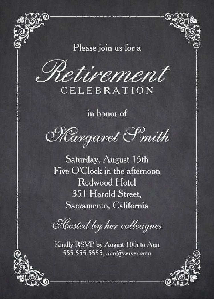 farewell party invitation letter example  Tarjetas de invitación