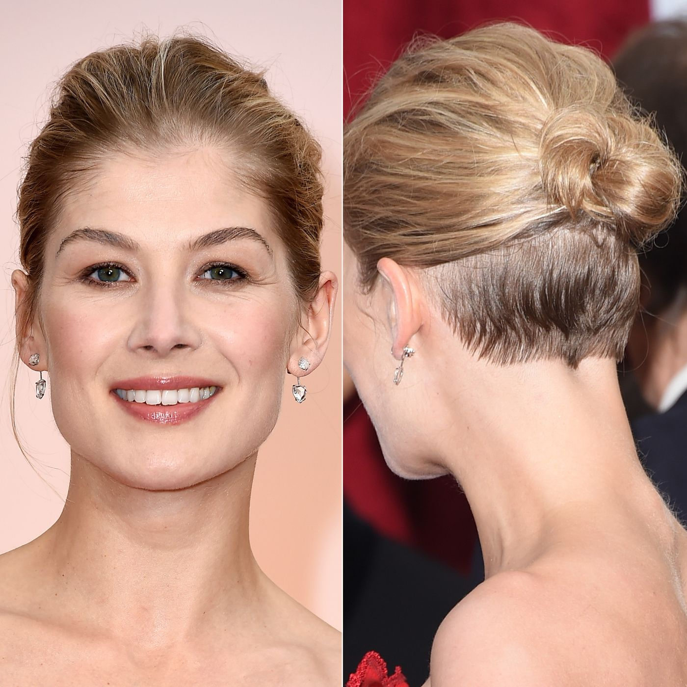 Amazing Wedding Updos from Every Angle  Up dos Short brown bob and