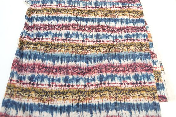 Blue Red Yellow Deconstructed Like Stripe by felinusfabrics